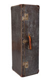 Vertical da mala de viagem do vintage Imagens de Stock Royalty Free