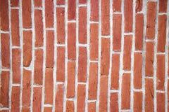 Vertical da parede de tijolo fotos de stock