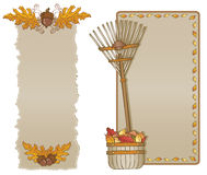 Vertical da variedade do frame do outono Imagem de Stock Royalty Free