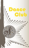 Vertical dance club banner Stock Image