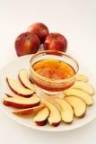 Vertical de Apple y de la miel imágenes de archivo libres de regalías