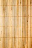 Vertical de bambú de la textura de la estera Imagen de archivo libre de regalías