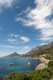 Vertical de la costa de Ciudad del Cabo Imagen de archivo libre de regalías