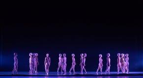 ` Vertical de la danza del ` s de caminar-Huang Mingliang ningún ` del refugio fotografía de archivo