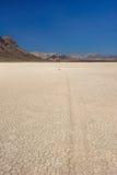 Vertical de la pista de raza de Death Valley Foto de archivo libre de regalías