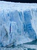 Vertical de Perito Moreno Fotos de archivo