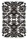 Vertical decorative pattern Stock Image