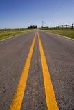 Vertical del camino de campo Imagen de archivo