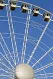 Vertical detail of ferris wheel Royalty Free Stock Image