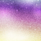 Vertical disco mosaic. Disco vector background. Vertical mosaic with light spots royalty free illustration