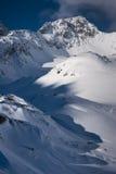 Vertical do cume da montanha Imagens de Stock