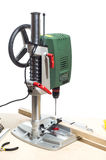 Vertical drilling machine Royalty Free Stock Photos
