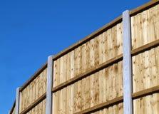 vertical för brädestaketpanel Arkivbild