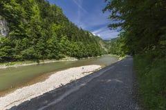 vertical för flod för panorama för berg för 3 hdrbilder Royaltyfri Bild