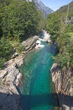 vertical för flod för panorama för berg för 3 hdrbilder Royaltyfria Foton