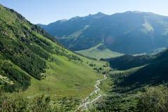 vertical för flod för panorama för berg för 3 hdrbilder Royaltyfria Bilder