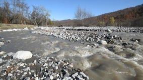 vertical för flod för panorama för berg för 3 hdrbilder lager videofilmer