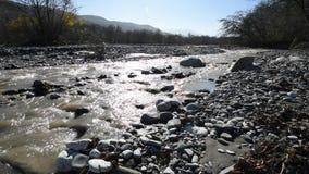 vertical för flod för panorama för berg för 3 hdrbilder arkivfilmer