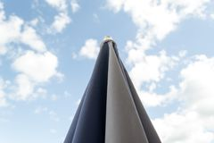 vertical för paraply för sun för djupfält grund skjuten mycket Arkivbild