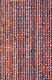 vertical för textur för bakgrundstegelstenmodell Arkivbild