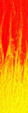 Vertical fire banner Royalty Free Stock Image