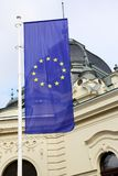Vertical flag of the European Union Royalty Free Stock Images