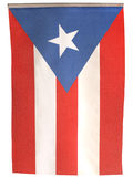 Vertical Flag Puerto Rico Flag Stock Photography