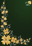 Vertical floral backgrounds. Vector illustration stock illustration