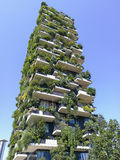 Vertical Forest building Royalty Free Stock Photo
