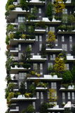 Vertical forest in Milan Royalty Free Stock Photos
