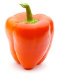 Vertical fresh bulgarian red pepper Stock Image