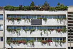 Vertical Garden Building Royalty Free Stock Photos