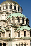 Vertical general view of the Alexander Nevski Cathedral Sofia Bu Royalty Free Stock Images