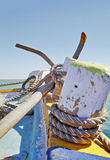 Anchor to Mainland India Stock Image