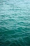 Vertical gentle ocean water waves. Texture background Stock Photography