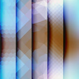 Vertical geometric strikes in different textures Royalty Free Stock Photos