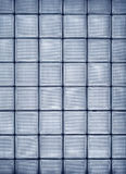 Vertical glass tile wall Stock Photo