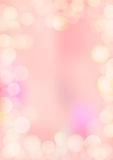 Vertical gradient pink texture background bokeh border Royalty Free Stock Image