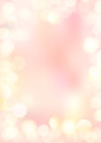 Vertical gradient pink texture background bokeh border Royalty Free Stock Photo