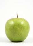 Vertical green apple Stock Images