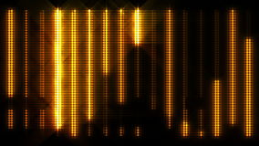 Vertical High Energy Dot Pattern Light Wall Loop stock footage