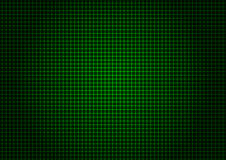 Vertical horizontal da grade verde do laser Foto de Stock