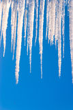 Vertical Icicles Royalty Free Stock Image