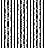 Vertical irregular, hand drawn lines. Repeatable pattern Stock Photos