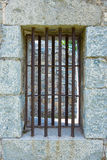 Vertical Jail Exterior Wall Stock Photography