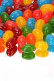 Vertical Jelly Beans. Reflection of jelly beans vertically Royalty Free Stock Photo