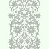 Vertical Lace Ribbon. Seamless Pattern. Royalty Free Stock Images