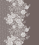 Vertical Lace Seamless Pattern. Royalty Free Stock Images