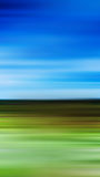 Vertical landscape abstraction in motion Stock Photo