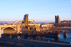 Vertical Lift Bridge in Saint Paul Stock Photography